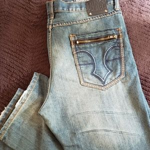 Ring of Fire Men's Jeans Size 36 Boot Cut EUC
